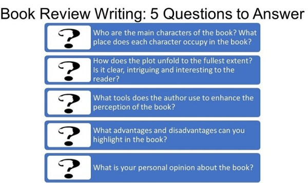 how to write a book review # 37