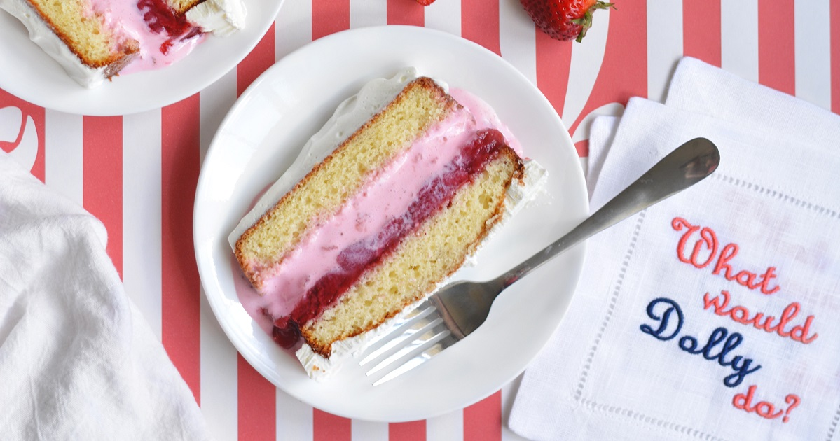 Two Layer Strawberry Shortcake Recipe