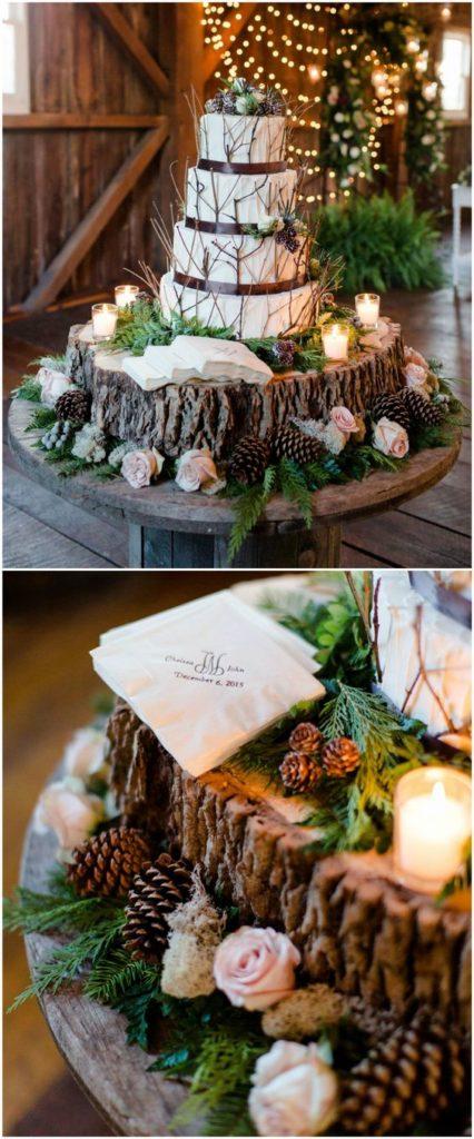 10 Rustic Wedding Cakes For Romantic Fall Weddings