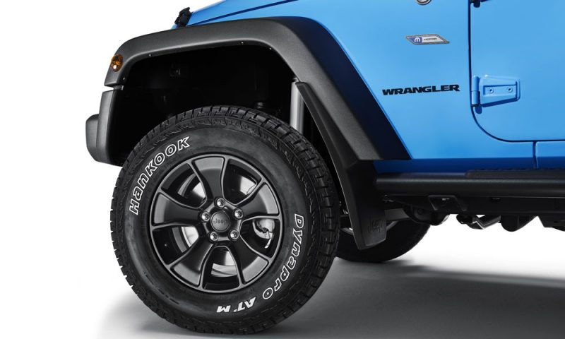 The Mopar One Package For The Jeep Wrangler Includes 17