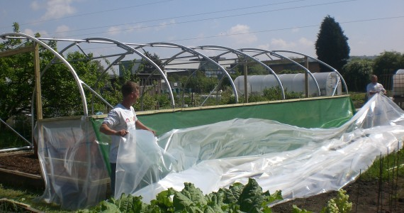Make do and mend…… Want to save money? First Tunnels Polytunnels have got it covered!