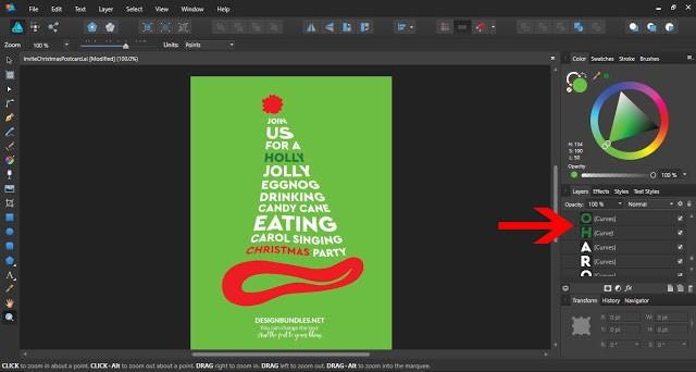 How To Use Templates In Affinity Designer Design Bundles