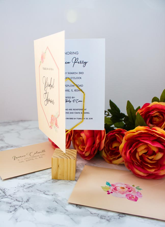 Design Your Own Bridal Shower Invitations