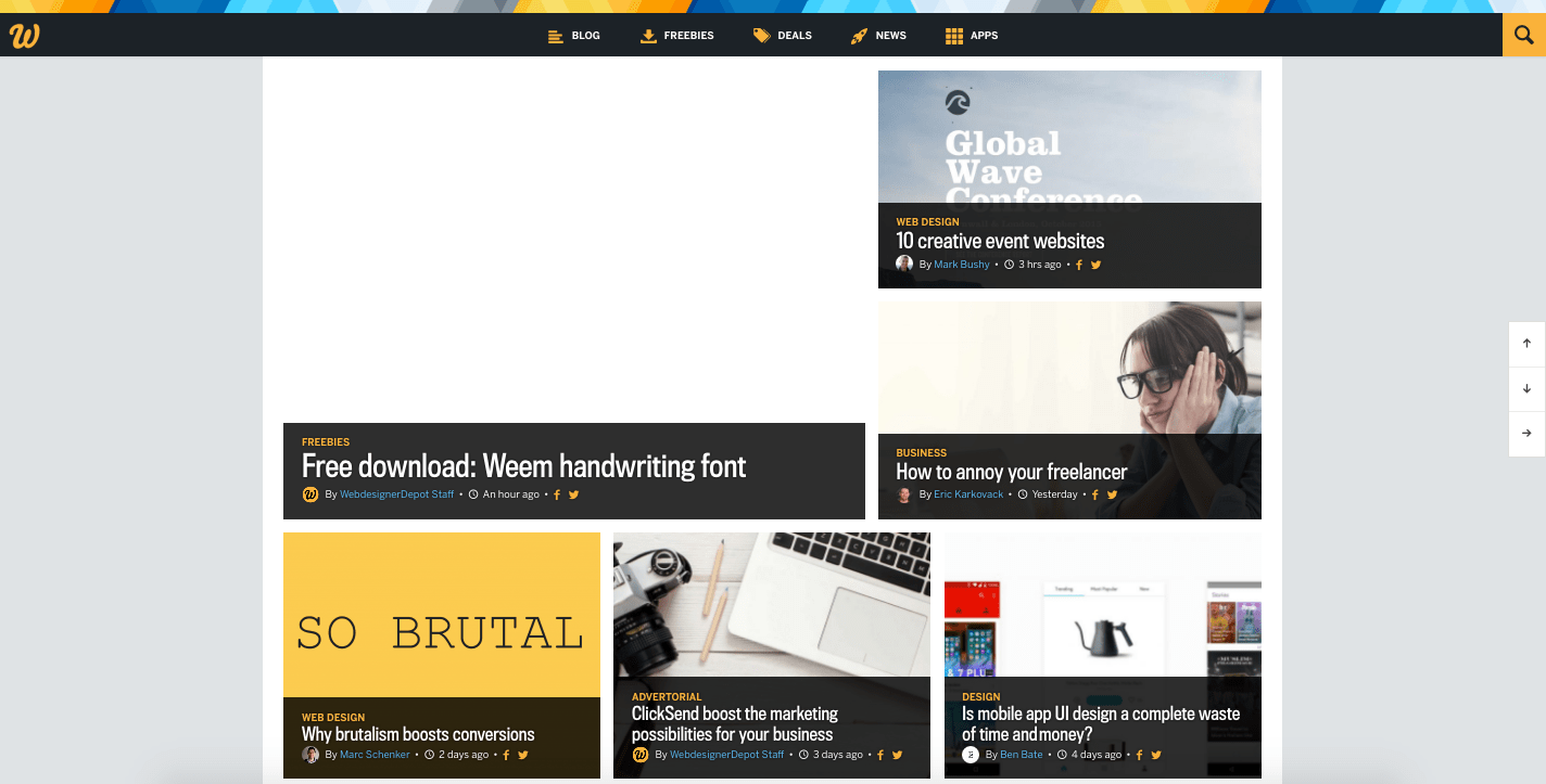 Best Blog Site Designs