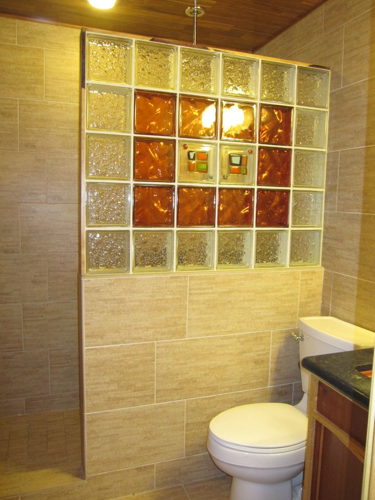 Glass Block Designs For Bathrooms Best Kitchen Gallery | Rachelxblog ...