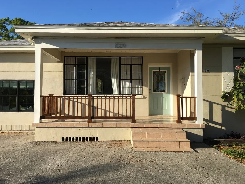 Simple Diy Wood Porch Steps Makeover | Diy Handrails For Outdoor Steps | Easy | External Step | Metal | Entrance | Diy Stone
