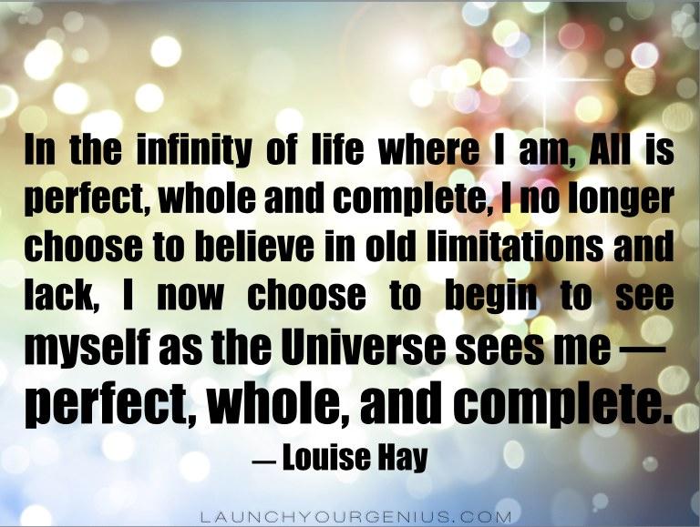 Louise Hay Infinity