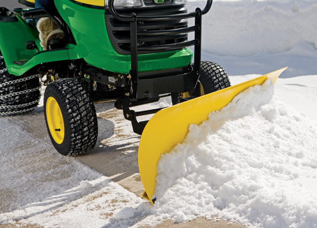 John Deere X320 Snowblower