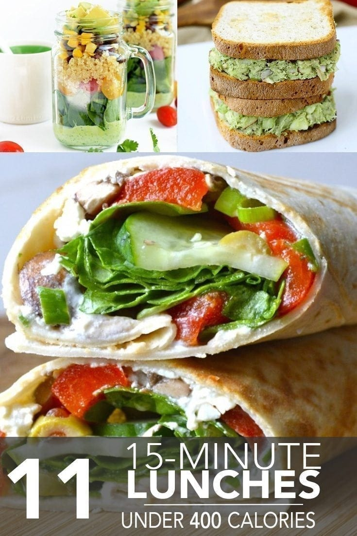 Lunch Under 400 Calories