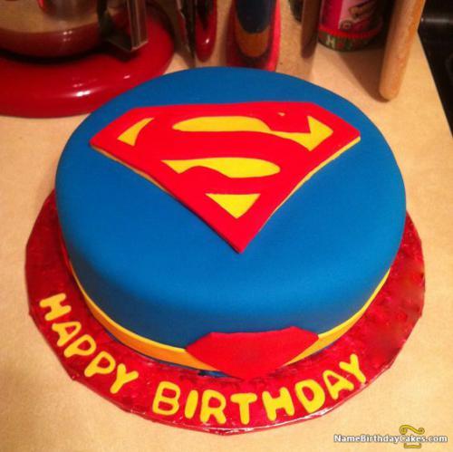 Superman Happy Birthday Cake Download Amp Share