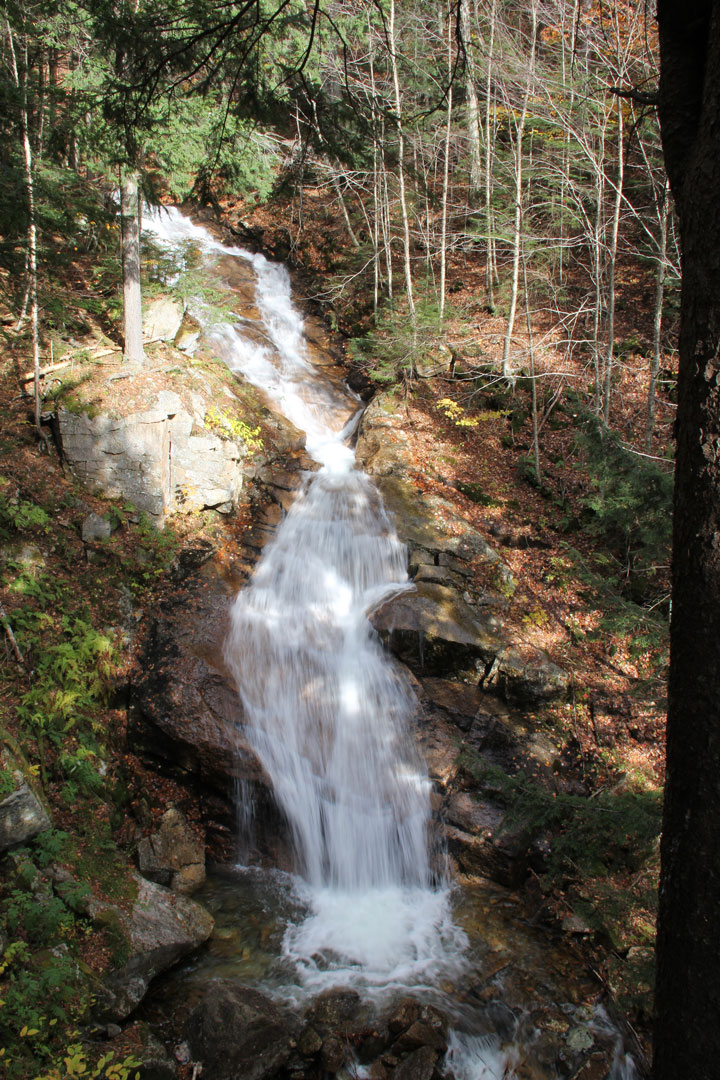 The Waterfalls Of Franconia Nh State Parks
