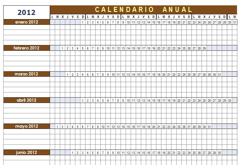 open office calendar template 2018
