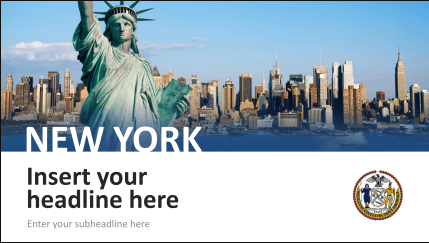 Powerpoint City Templates Visualize Your Trips Impressively