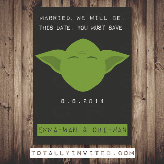 Themed Save Date Cards