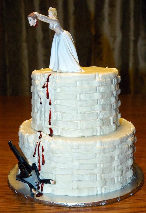 Rhinestone Wedding Cakes