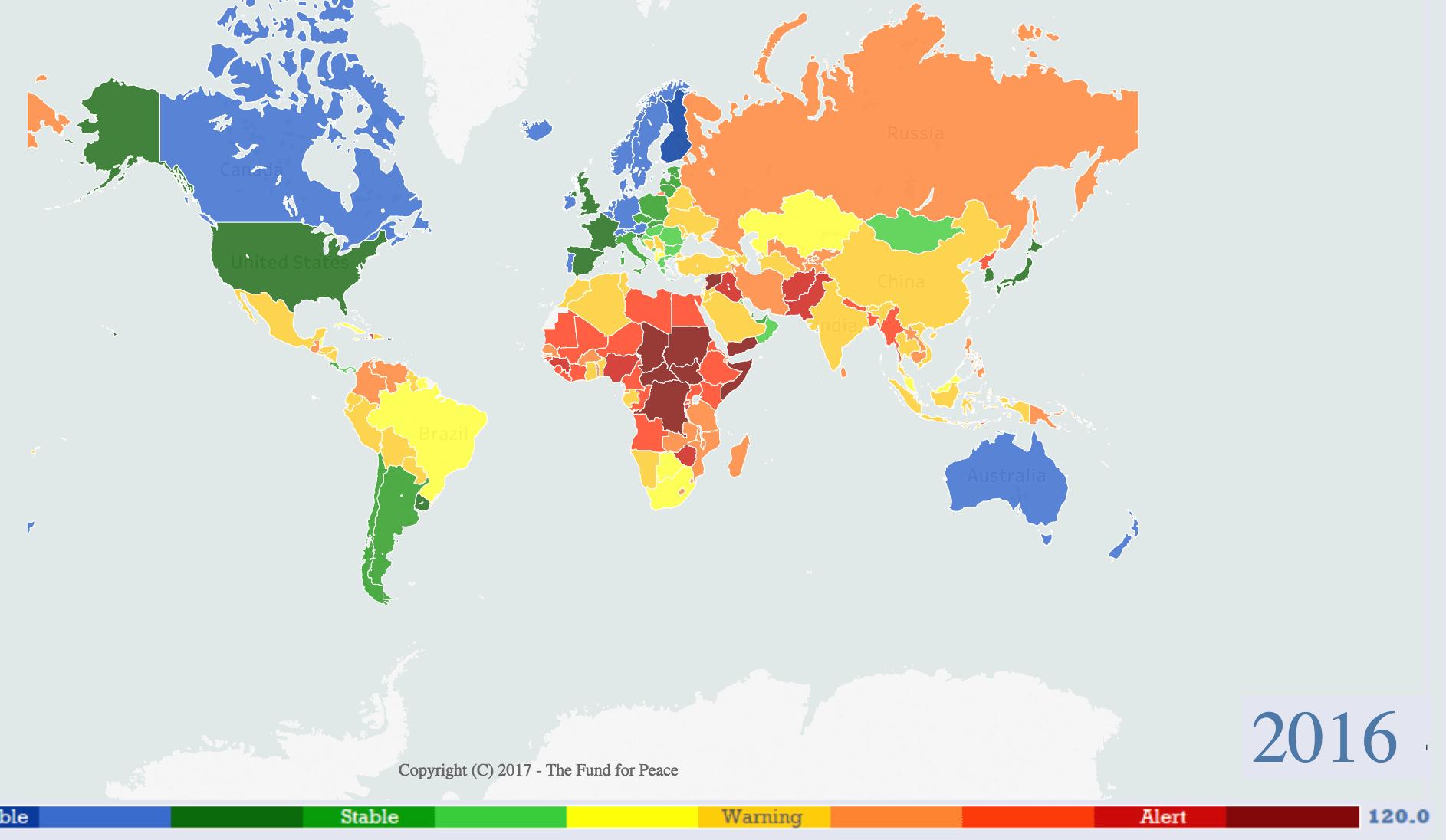 Fund Peace Failed States
