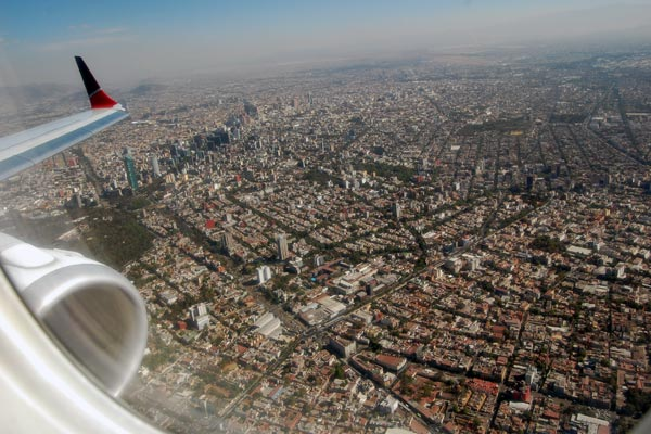 Happy New Year from Mexico City     Rick Steves  Travel Blog Flying into Mexico City