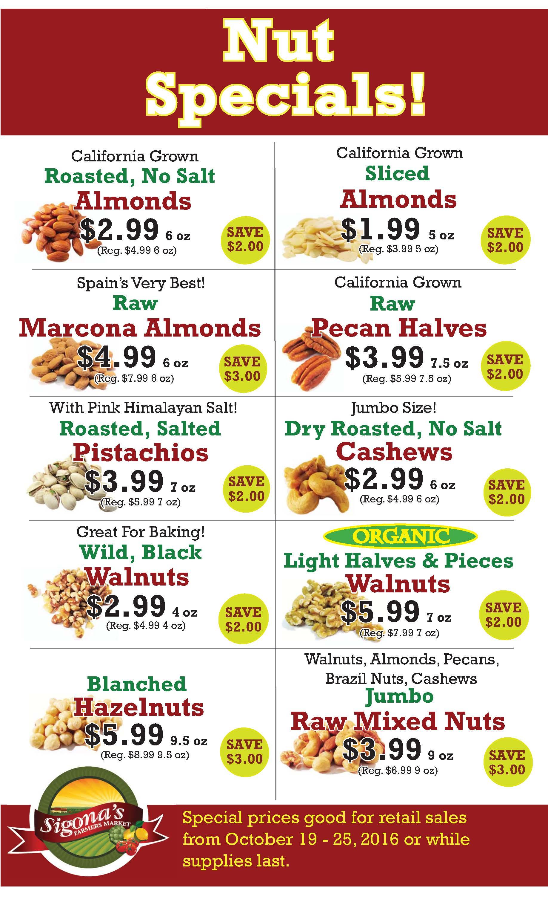 Fresh Market Weekly Specials