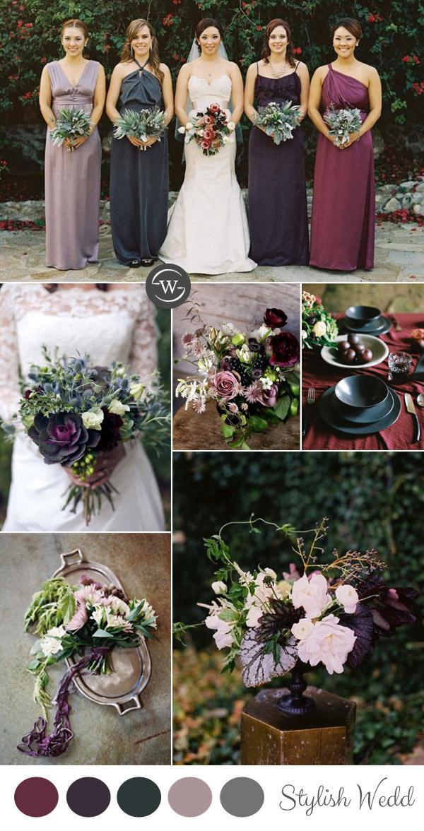 Purple Fall Wedding Ideas