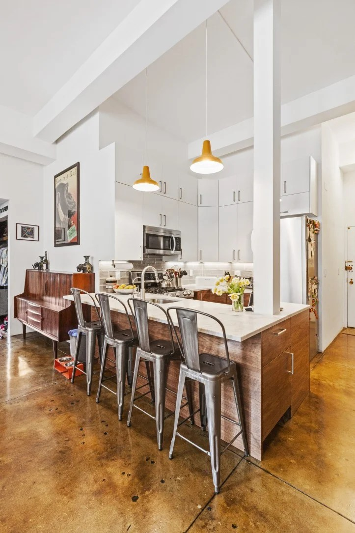 A Kitchen Remodel Breaks The Ceiling For A Bright New Look