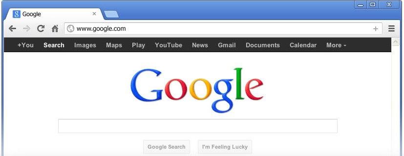 Make Google My Home Page