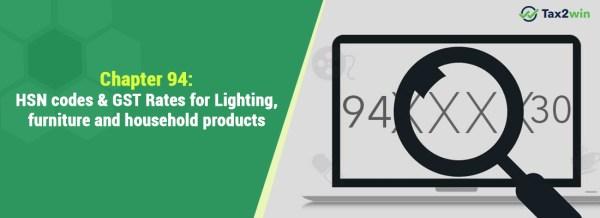 light fixtures hsn code # 14