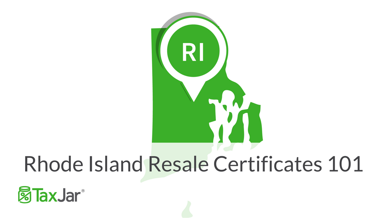 Ohio Resale Tax Certificate