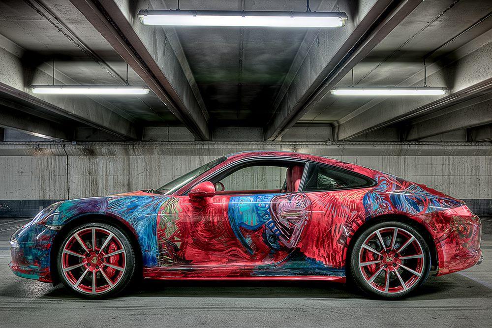 Porsche 911 Car Art