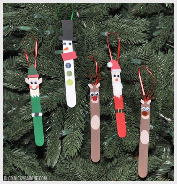 christmas ornaments popsicle sticks # 11