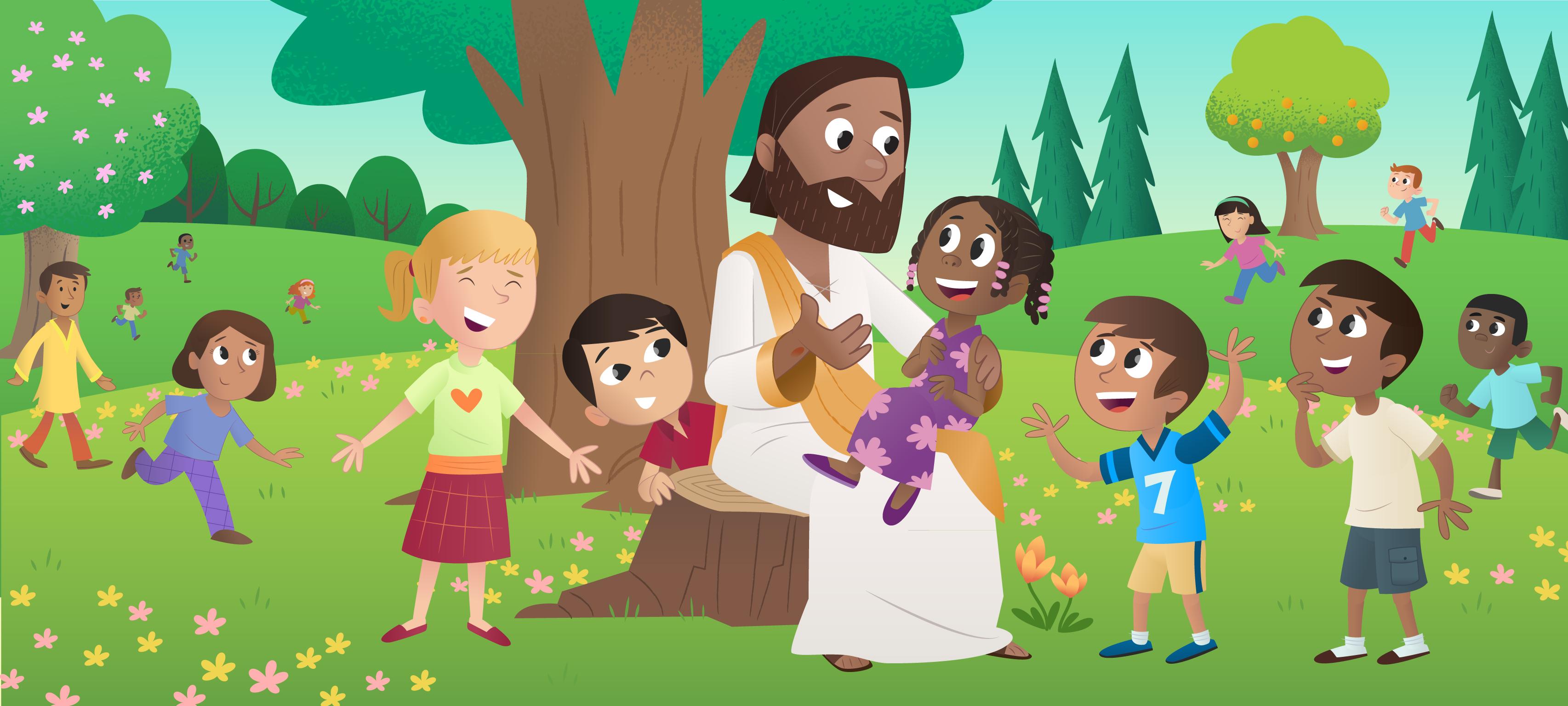 """Brand-New Bible App for Kids Story: """"God's Good News ..."""