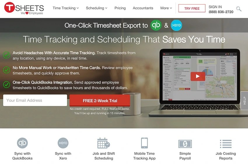 Time Clock Software  How to Pick the Best Option for Your Team TSheets