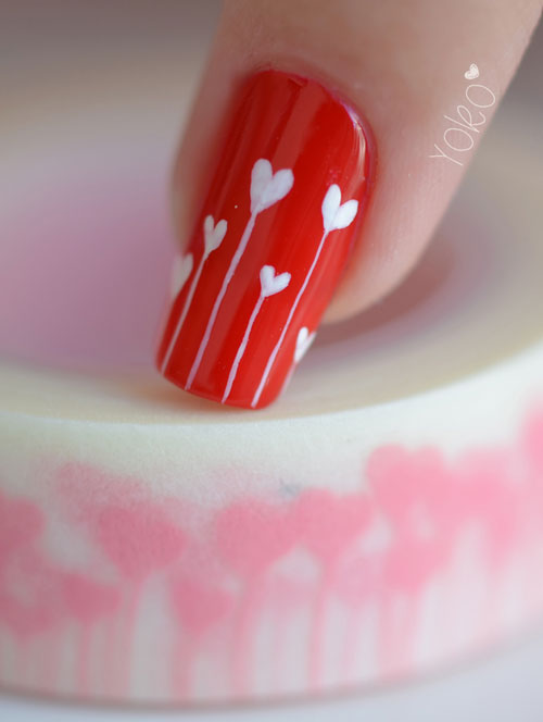 Unas Decoradas Para San Valentin