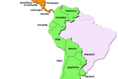 Latin america map puerto rico 4k pictures 4k pictures full hq maps of latin america lanic south america latin america map free templates free powerpoint templates map of latin america with outline and cities labeled on toneelgroepblik Gallery