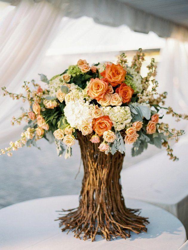 Autumn Wedding Centerpieces