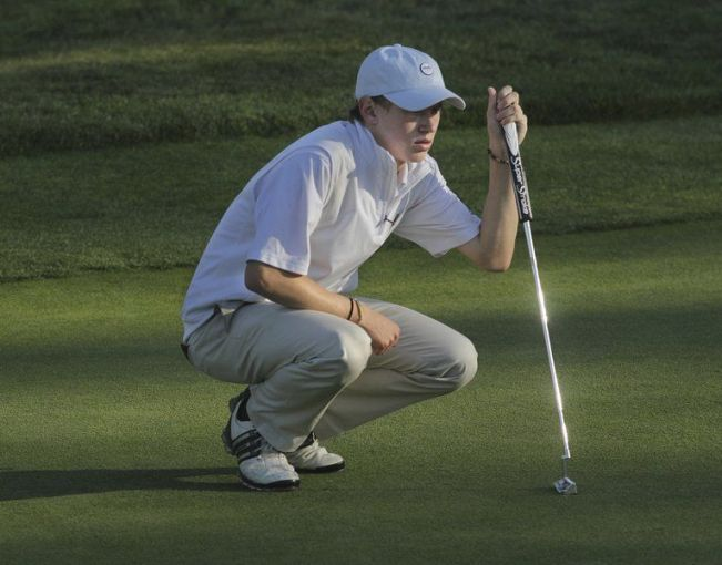 Bichet looks to golf state finals after medal at sectionals   Sports     Mike Springer Staff PhotoBen Bichet won the Division 3 North Sectional  tournament this past Monday and will play in the state finals this coming  Monday at