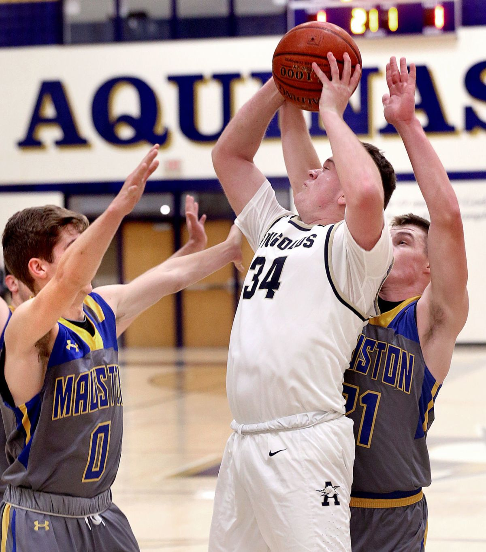 High School Basketball Mauston Tops Merfeld Less La