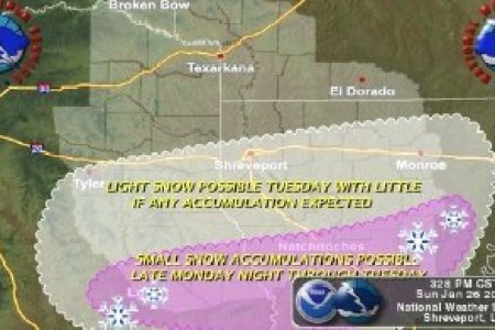 Bitterly cold temperatures returning to Magnolia area   Local News     Wintry weather in Texas and Louisiana