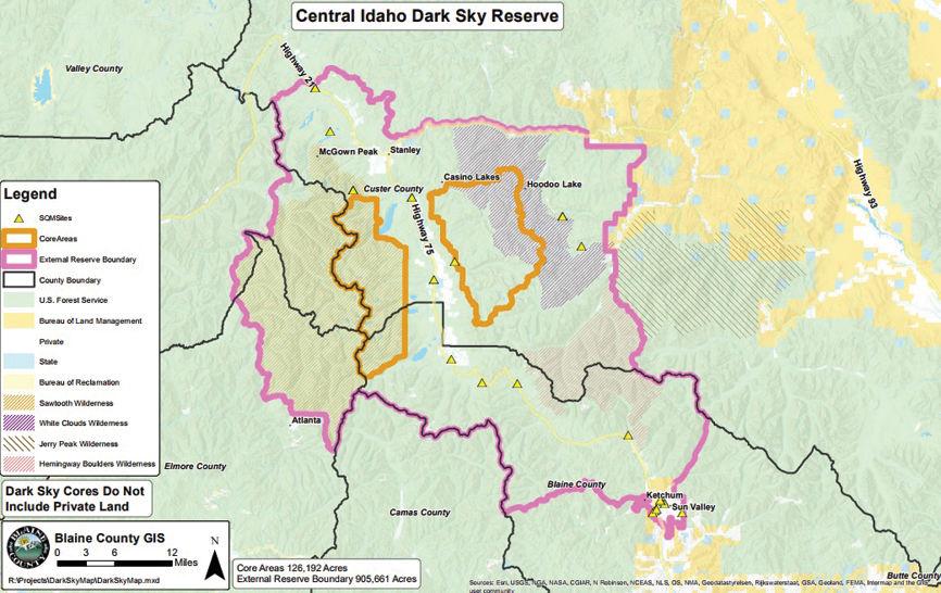 Idaho Valley Map Mountain Sun
