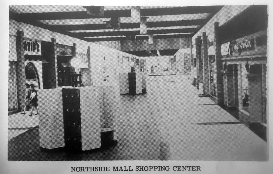 Answer Man  Northside Mall had a variety of stores when it opened     A photo of the interior of Northside Mall in the 1971 Polk s Dothan City  Directory