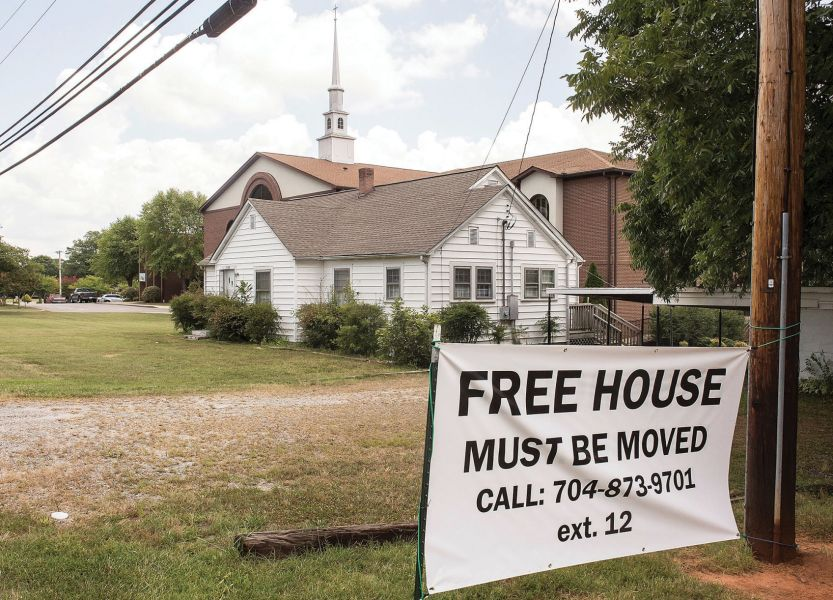 House rules  Move it and it s yours   News   statesville com Church seeks owner for free home
