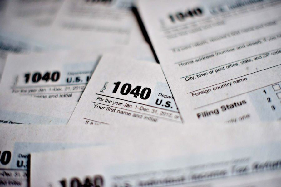 The lazy taxpayer s guide to Tax Day   Business   stltoday com Bloomberg Photo Service  Best of the Week   U S  Department of the Treasury  Internal Revenue Service  IRS  1040 Individual Income Tax forms for the  2012 tax