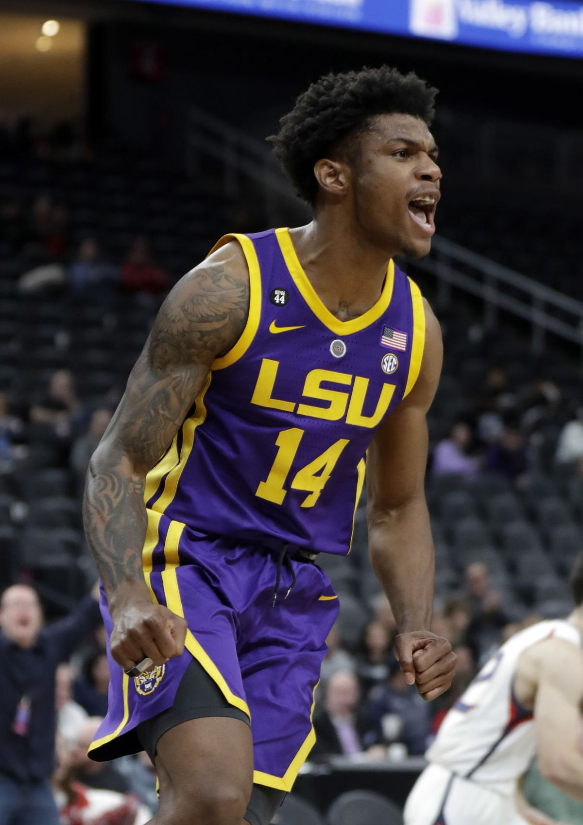 Will Wade on LSU basketball team's late-night win against ...