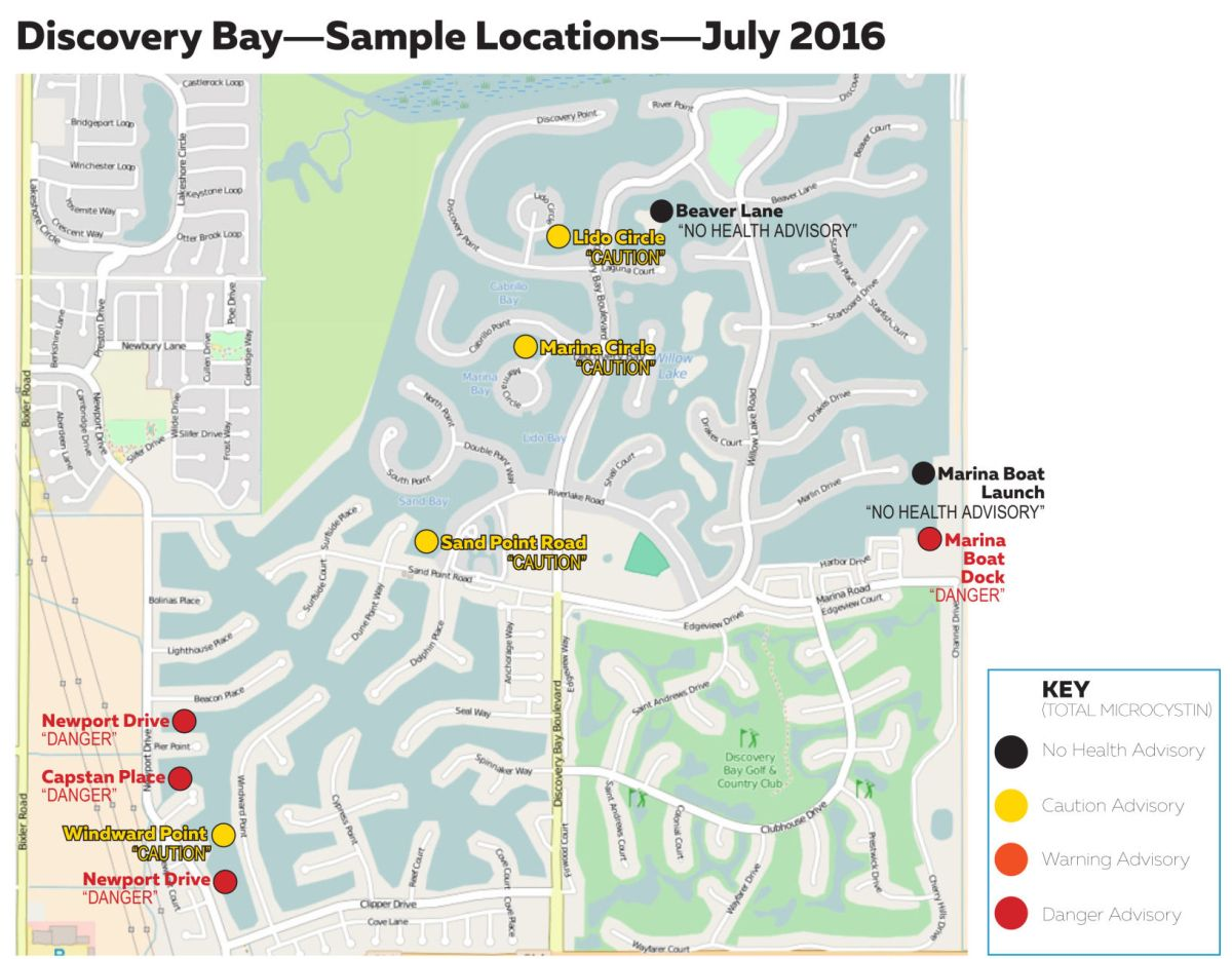 Discovery Bay Delta Map
