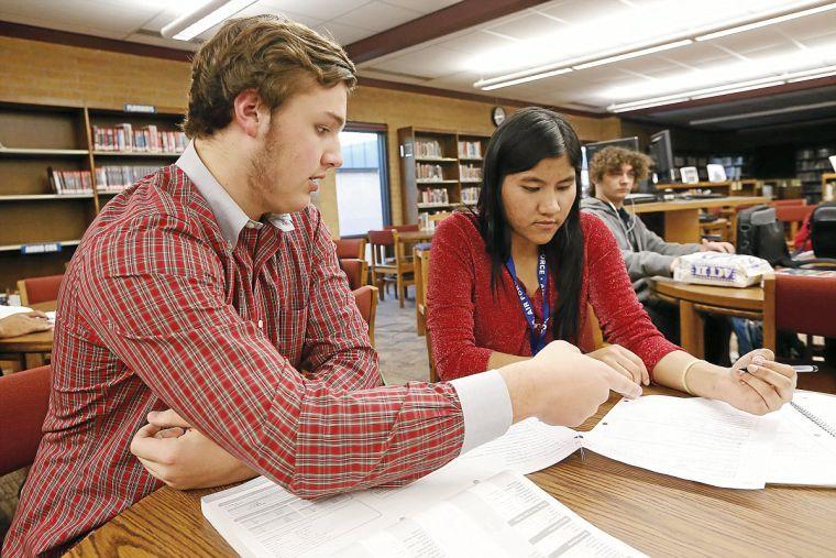 School Jenks Students High