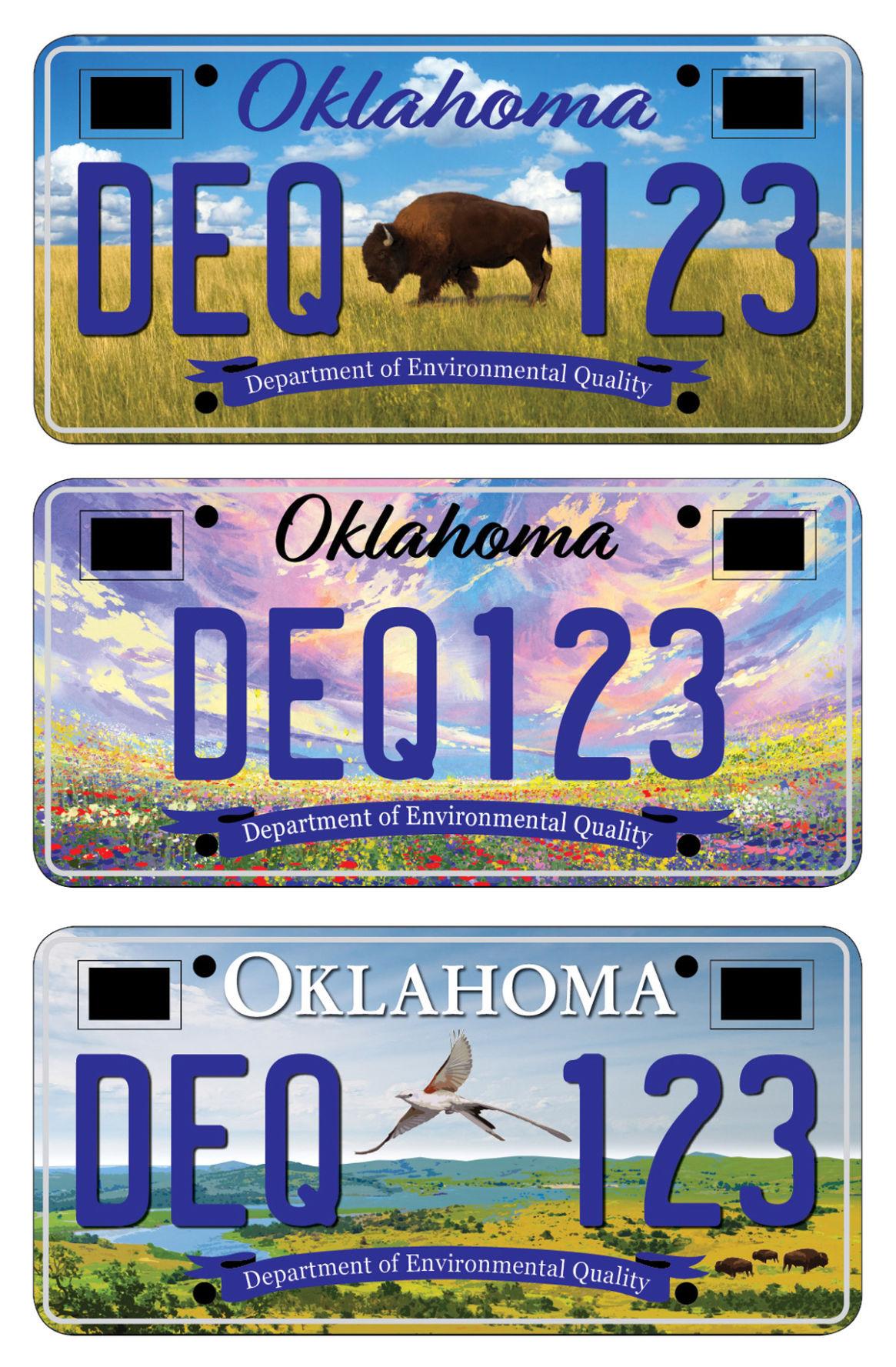 Indian Oklahoma Car Tags