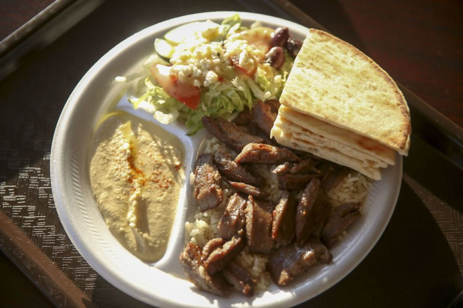 Review Gyro King Is New Spot For Mediterranean Fare In