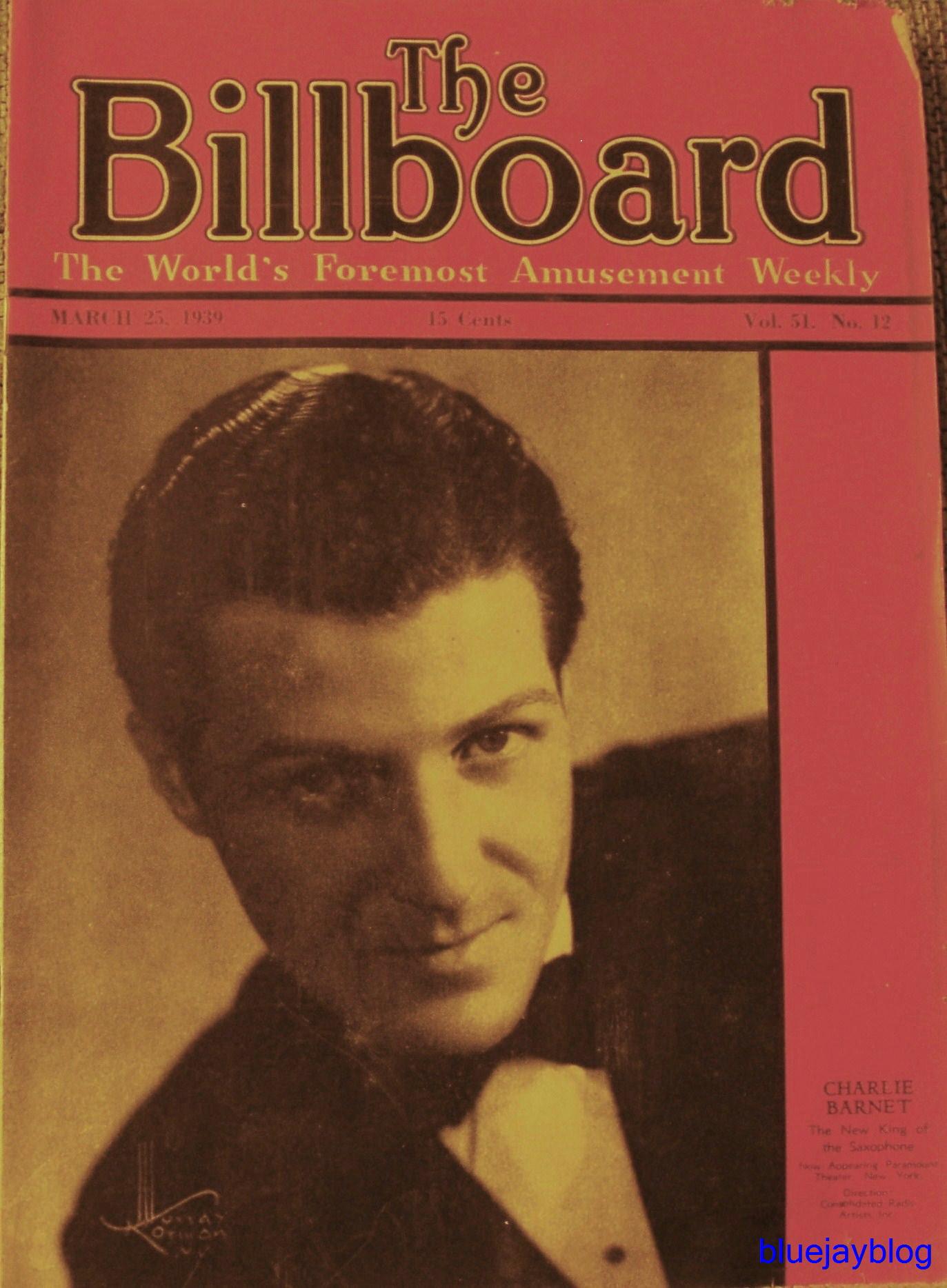An Old Billboard Magazine   bluejayblog