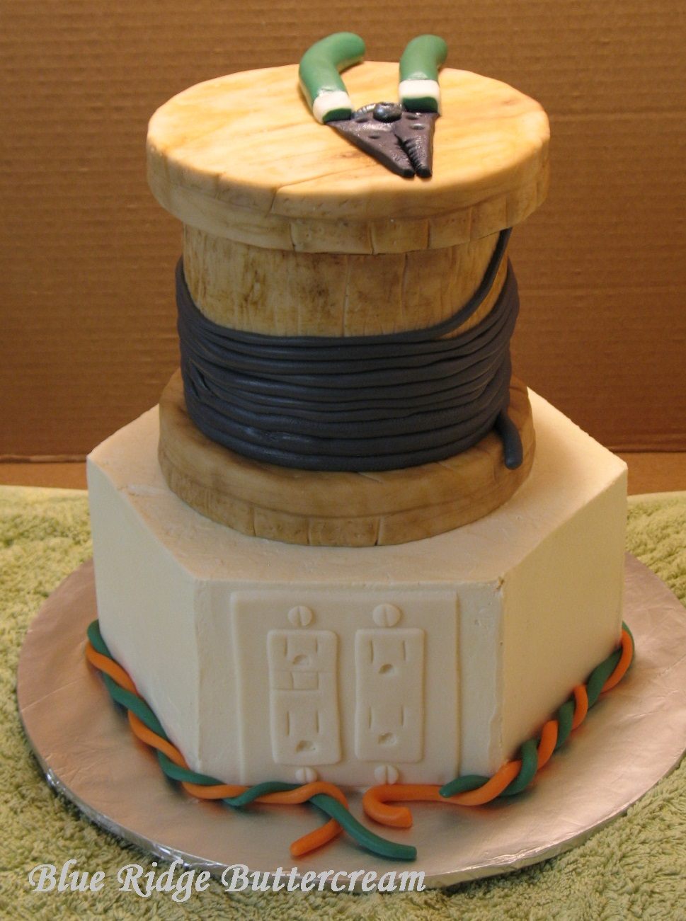 Tiered Cakes Blue Ridge Buttercream