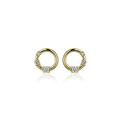 05 Earrings 1 Carat Diamond Stud