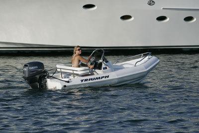Research Triumph Boats 120 Cc Center Console Boat On